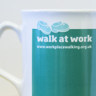 Walk at Work mugs