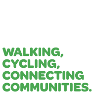 Walking, Cycling, Connecting Communities brand