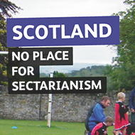 No place for sectarianism